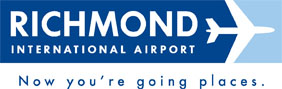 richmond international airport logo - now you're going places