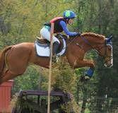 Madlen parades her horse