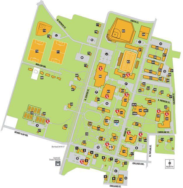 Campus Map RandolphMacon College