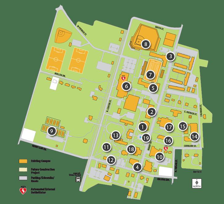 R-MC Campus Map