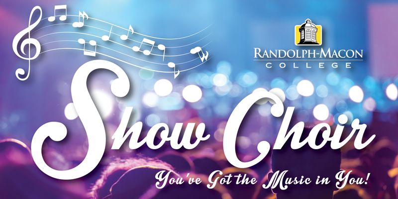 R-MC Show Choir Logo - You've Got The Music In You