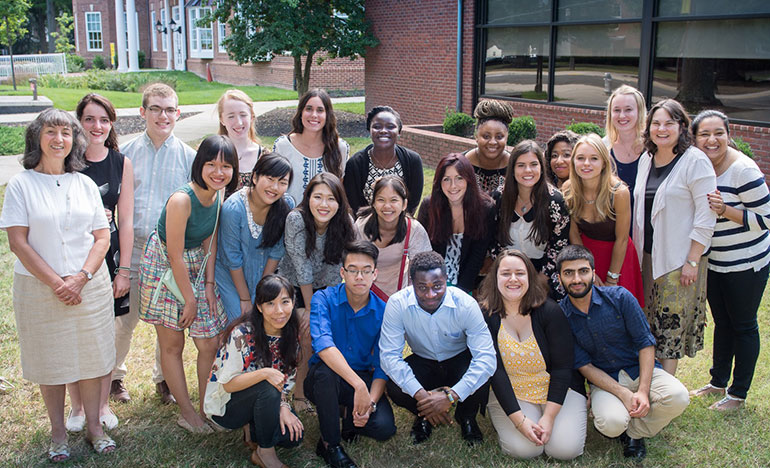 photo of International Students 2016