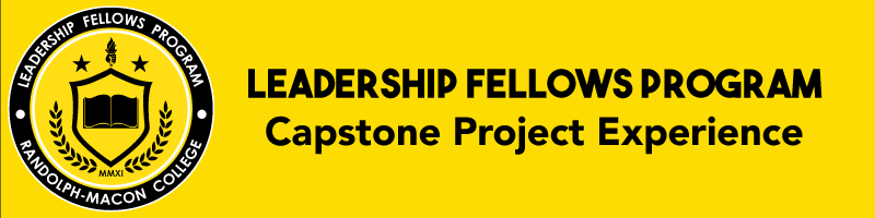 Leadership Fellows Program   Capstone Project Experience banner