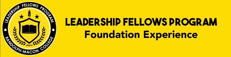 Leadership Fellows Program  Foundation Experience