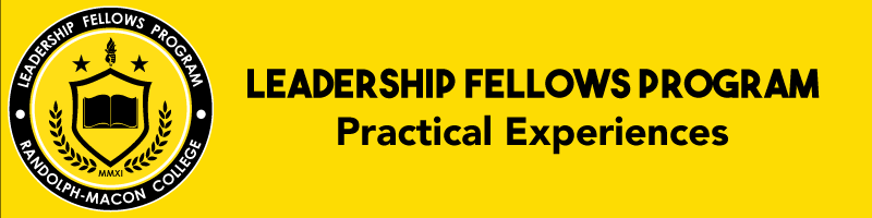 Leadership Fellows Program  Practical Experiences banner