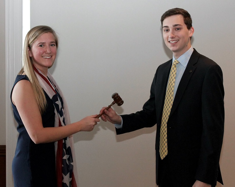 Pass the Gavel Photo - Talbot Weston and Carrington Wentz