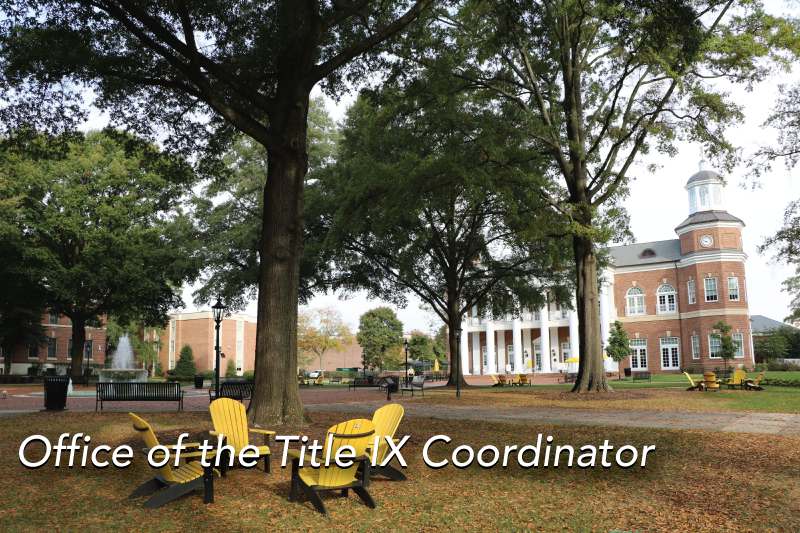 Office of the Title IX Coordinator